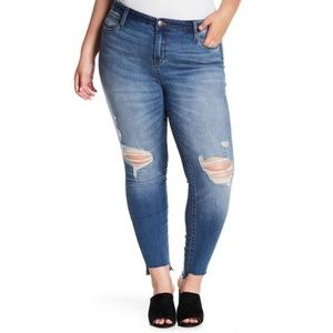 STS Blue Ellie High Rise Ankle Jean BB10